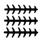 WTP Ladderback Spoon Die-Cut Stickers
