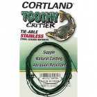 Cortland Toothy Critter Tie-Able Stainless Steel Leader Material
